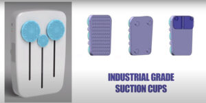 back wash with suction cups